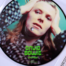 "DAVID BOWIE CHANGES PICTURE DISC 7"" VINYL  EIGHT LINE POEM PROMO VERSION NM RARE"