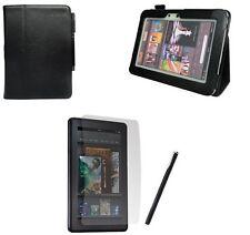 Amazon Kindle FIRE HD Custodia Cover In Pelle e Flip Stand Digitazione