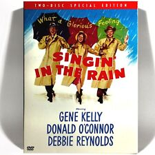 Singin' in the Rain (2-Disc Dvd, 1951, Special Ed.) Like New ! w/ Slipcase !