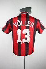 Bayer 04 Leverkusen 1995 Voller Home Adidas Football Shirt Trikot Mens XS F623