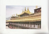 BF28288 the golden roof of the  zuglakang temple  china   front/back image