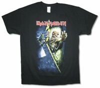 Iron Maiden Breakout Prayer Ed Black T Shirt New Official Soft