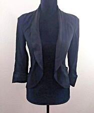 Aritzia Wilfred Black Tuxedo Blazer Jacket Women's Size Zero 0