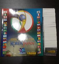 PANINI WC KOREA 2002  ALBUM EMPTY/VUOTO + FULL SET 1-576. MINT CONDITION!