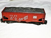 Gilbert American Flyer, 921 CB&Q Hopper Car with Coal Load, Used, Boxed NICE