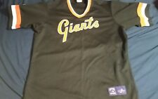 MINT San Francisco Giants Majestic Cooperstown Collection Jersey - Size XL