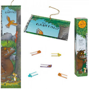 The Gruffalo Kids Hanging Wall Height Chart Children's Growth Magnetic 150cm