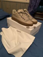 Balenciaga Low Arena Beige Trainers Uk7 Rare Deadstock With Box,  Bag N Laces