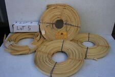 Basket Making , Flat reed size 5/8 inch. Four rolls Lot #5