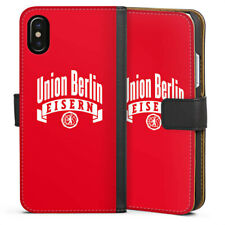 Apple iPhone x bolso funda flip case - 1. fc Union Berlin surgían