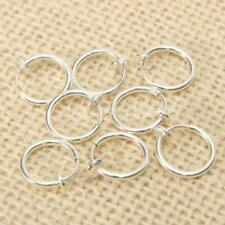 8 Clip on Fake Piercings Rings Ear Nose Lip Earrings Body Jewellery