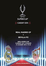 UEFA SUPER CUP 2014 Real Madrid v Sevilla