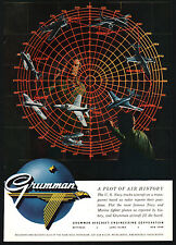 1955 Grumman Aircraft Ad 8 Us Navy. Marine Fighter Planes Wildcat Hellcat 6other