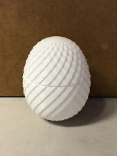 White Dragon egg Dice holder D&D Dungeons & Dragons 3D Printed Container