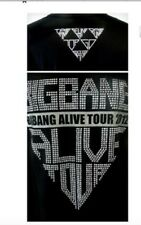 BIGBANG BIG BANG Alive Tour 2012 K-POP Black Rhinestones T-shirt NEW Small