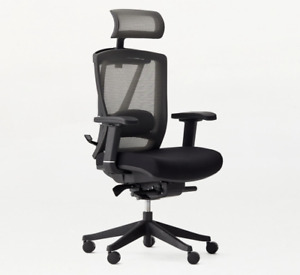 Autonomous Ergo Chair 2 FAST WORLDWIDE SHIPPING*ALL BLACK*