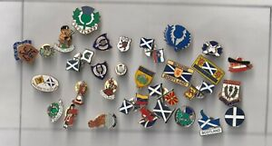 Small collection of Scottish Souvenir badges