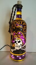 ECU Pirates Inspiered Bottle Lamp