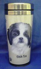 "E&S Pets 16 oz.Dog Breed Stainless Steel Travel Mug ""Shih Tzu"" New Listing # 2"