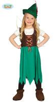 Children's Story Book Girls Robin Hood Costume
