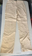 CAMBIO COLLECTION BEIGE SPANDEX Stretch  PANTS SIZE 38