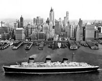 New 11x14 Photo: SS Normandie, French Ocean Liner Passenger Ship in New York