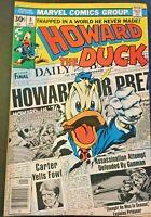 HOWARD THE DUCK. 1ST SERIES. NO. 8. BRONZE AGE 1977. GENE COLAN-ART.