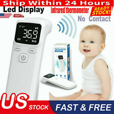 Digital Non Contact Forehead Thermometer Adult/Baby Ir Infrared Temperature Gun