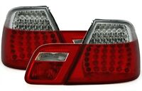 CLEAR LED REAR TAIL LIGHTS LAMPS FOR E46 3 SERIES CONVERTIBLE CABRIO