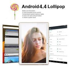 10 inch HD Dual SIM Camera 3G Octa Core Tablet PC Android 4.4 2Gb+16GB Bluetooth