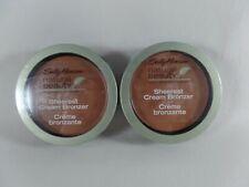 Carmindy Sally Hansen Natural Beauty Sheerest Cream Bronzer Havana Glow Lot of 2
