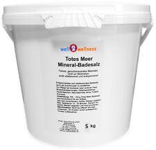 Totes Meer Mineral Badesalz / Totes Meersalz 5,0 kg - 100% naturreines Salz