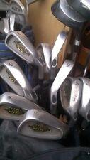 Set of 12 Golf Gear Balance, Irons 3-SW & 3 Woods Reg Steel Callaway Clones GC