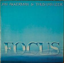 JAN AKKERMAN & THIJS VAN LEER: Focus-NM1985 LP
