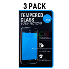 3-Pack iPhone 7 Tempered GLASS Screen Protector Bubble Free