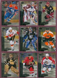 2010-11 UPPER DECK BLACK DIAMOND NHL HOCKEY CARD 1 TO 90 SEE LIST