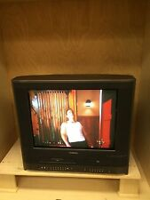 """TOSHIBA MW20H63 20"""" CRT TV DVD VHS VCR PLAYER COMBO COLOR"""