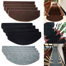 15Pcs/Set Stair Tread Carpet Mats Step Staircase Non Slip Protection Cover Pads