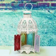 Marokkanische Laterne Windlicht Kerzenhalter Teelichthalter Metall Gartendeko