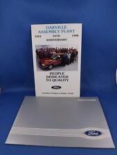 FORD IN CANADA INFORMATION BOOKLET ASSEMBLY PLANTS TRACTOR EQUIPMENT DEALERS
