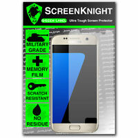 ScreenKnight Samsung Galaxy S7 SCREEN PROTECTOR invisible Military Grade shield