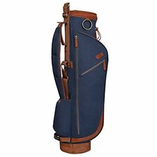 OGXO GOLFERS TRAVEL BAG - HERITAGE RANGE SUNDAY GOLF BAG + TRAVEL COVER - NAVY