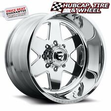 "FUEL FORGED FF17 POLISHED 22""x16 CUSTOM WHEELS RIMS (4 RIMS) 9 LIP STYLE CHOICES"
