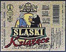 Poland Brewery Lwówek Śląski Książęce Beer Label Bieretikett Cerveza ls129.2