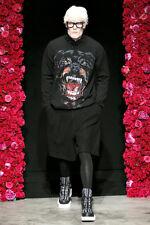 Givenchy Riccardo Tisci FW11 Oversized Black Wool Pleated Shorts Sz FR 36 or XS