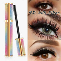 4D Starry Mascara Silk Fiber Lash Waterproof Lengthening Thick Eye Lashes -UK