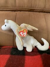 Rare 1995 Magic the Dragon Beanie Baby with tags with errors - vintage