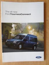 FORD TOURNEO CONNECT orig 2002-03 UK Mkt Sales Brochure - LX