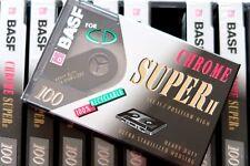 BASF CHROME SUPER II 100 HIGH BIAS TYPE II BLANK AUDIO CASSETTE - 1993