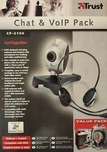 Webcam Trust CP-2100 Chat & CoIP Pack